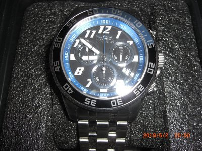 INVICTA 大錶徑 計時腕錶