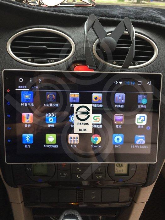 FORD福特 FOCUS -10吋安卓機.Android.觸控螢幕.usb.導航.網路電視.公司貨保固一年