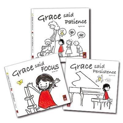 【大衛】風車 Grace said【英文版】(三本/套) Grace said persistence 等三書