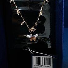 Swarovski Butterfly necklace BNWT &box