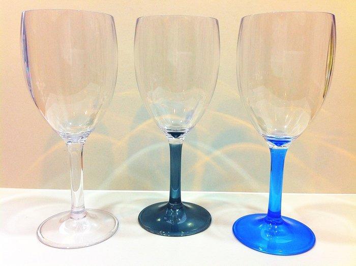 尼克卡樂斯家居精品~優惠實施中~ 經典時尚紅酒杯 餐廳杯 派對杯 燭光晚餐 壓克力杯
