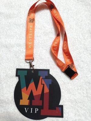 26~演唱會~西城男孩WESTLIFE 20 演唱會VIP掛牌吊牌