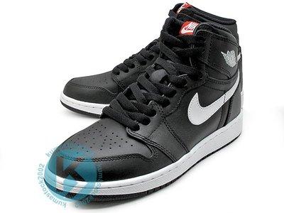 NIKE AIR JORDAN 1 RETRO HIGH OG BG YIN YANG 女鞋 黑白 575441-011
