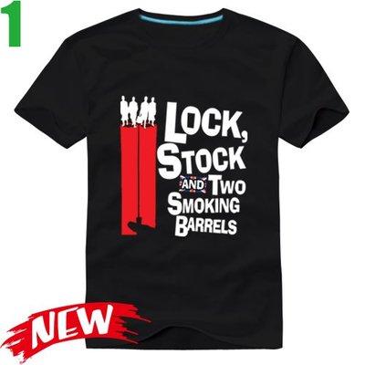 【兩根槍管 Lock, Stock and Two Smoking Barrels】短袖電影T恤(共3種顏色可供選購)