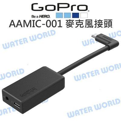 【中壢NOVA-水世界】GoPro HERO Black Session【AAMIC-001 3.5mm麥克風接頭】原廠