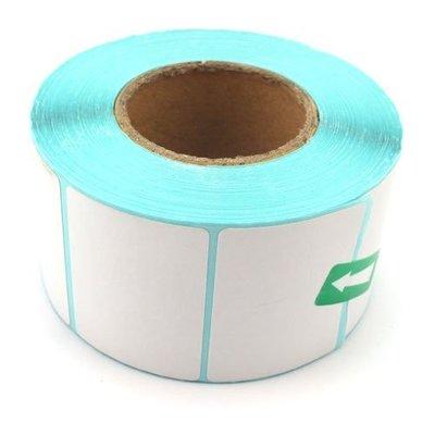 3C嚴選-50mm x 40mm 單層條碼紙 卷/800張 不乾膠 單層貼紙 熱感式 條碼紙 免色帶 50*40