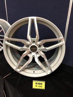 DJD19042917 世盟 Nashin 全鍛造單片式輪框 R106 19吋 5孔108~120 8.5J/9.5J