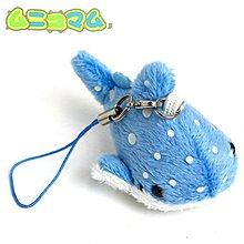 阿米購 日本 ムニュマム 超可愛 海底小動物迷你系列 絨毛娃娃 手機吊飾 (豆腐鯊) 390-900325
