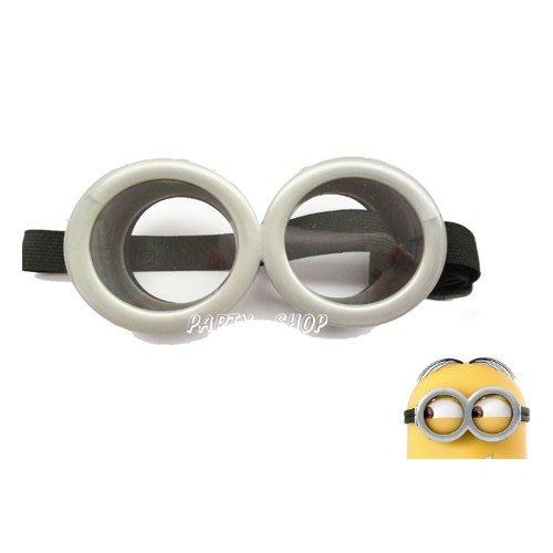 J80【派對樂】 萬聖節服裝/聖誕節/生日派對舞會用品/小小兵_小小兵眼鏡