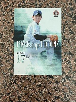 S     MLB/西武獅球星 - 菊池雄星 (10BBM系列一,PICK up HOPE,NO.484) RC新人卡