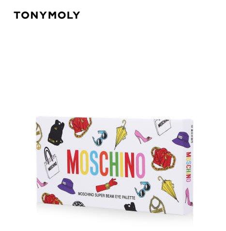 ☆愛寶韓國空運☆ TONYMOLY MOSCHINO SUPER BEAM EYE PALETTE 眼影盤【免稅店代購】