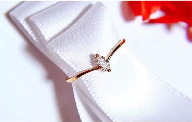 日韓輕奢珠寶 925銀鍍黃K金 黃金眼鑽戒指 甜美穿搭配件 閃亮動人  金色閃耀旺旺好運到  ✽ 17Glory ✽