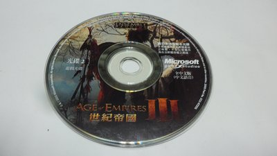 紫色小館-61-6-------世紀帝國3(遊戲光碟2)