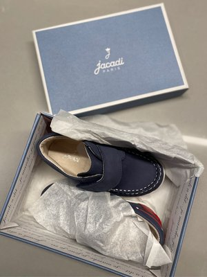 全新jacadi童鞋 皮鞋 15cm 24