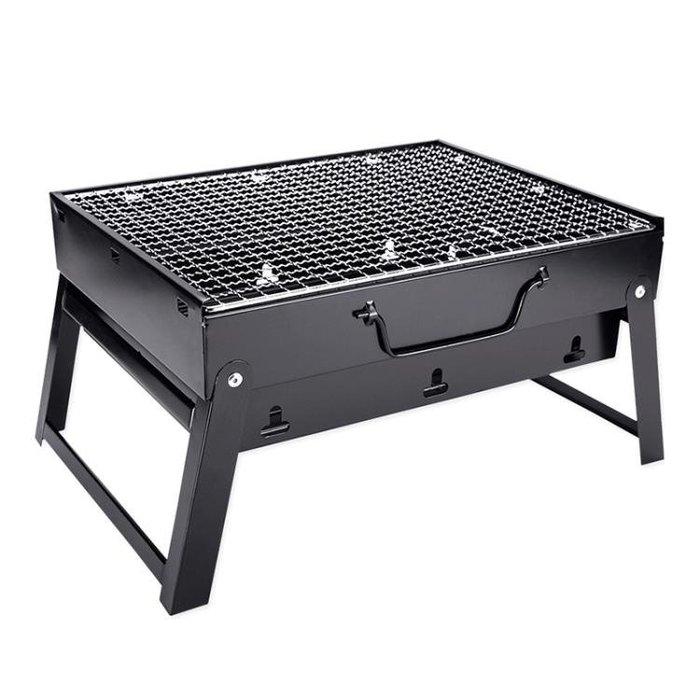 tw/4 -2 燒 烤架戶外 迷你燒烤 爐家用木 炭用具烤 串單人烤 肉小型野 外全套爐 子