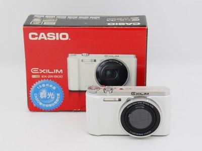 【青蘋果】CASIO  ZR1300/ZR1500 白 二手  翻轉螢幕 位相機 自拍神器  #DI272