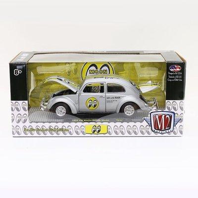 (I LOVE樂多)MOONEYES X M2 Silver Die-Cast 1:24 VW Beetle 金龜車