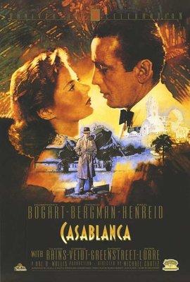 北非諜影-Casablanca (1942) 特殊尺寸 原版電影海報