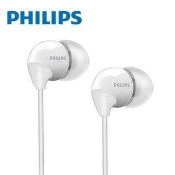 PHILIPS SHE3590 WT 耳塞式耳機 白色
