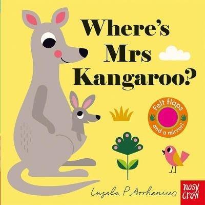 全新 現貨 Where's Mrs Kangaroo 不織布翻翻書