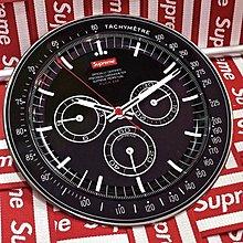 XinmOOn SUPREME FW20 Watch Plate 手錶 餐盤 盤子 盤 標語 錶盤 最高 黑 餐具 現貨