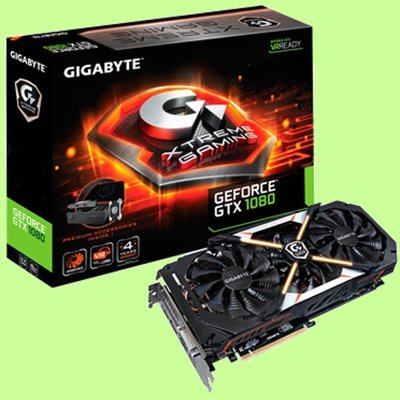 5Cgo【權宇】技嘉GeForce GTX 1080 XG豪華尊榮版顯示卡 DDR5 4GB 256bit 含稅
