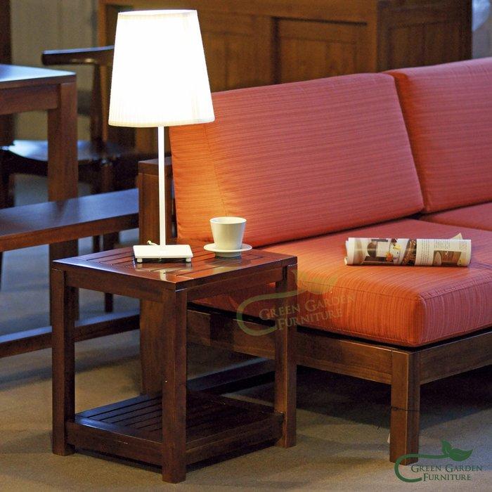 約克 柚木短板凳【大綠地家具】實木椅凳/板凳/穿鞋椅/餐椅/玄關椅/置物架/邊桌