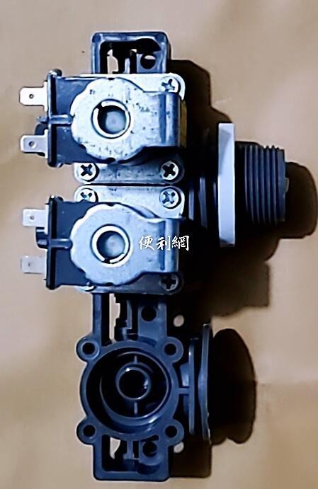 東元洗衣機用進水閥 雙電磁閥 DR1- 2AS AC110-130V 95mA 適用:W1699XS…等-【便利網】
