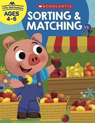 *小貝比的家*SORTING MATCHING/ LITTLE SKILL SEEKERS/AGE 4-6/平裝/練習本