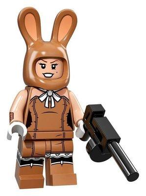 【荳荳小舖】LEGO樂高 樂高人物系列71017樂高人偶包 樂高蝙蝠俠電影#17兔女郎 瑪琪哈里特 含運200下標即售
