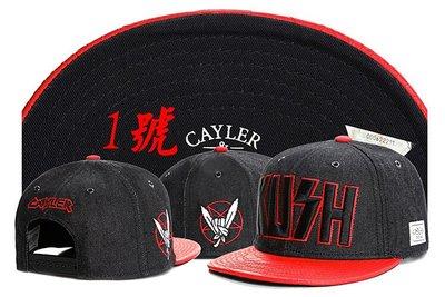 【潮流前線】歐美街頭爆潮牌CAYLER SONS嘻哈帽BBOY街舞HIPHOP滑板帽RAP平沿帽