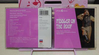 倫敦節慶管弦樂團 屋頂上的提琴手 音樂劇原聲碟 德國盤 Fiddler On The Roof