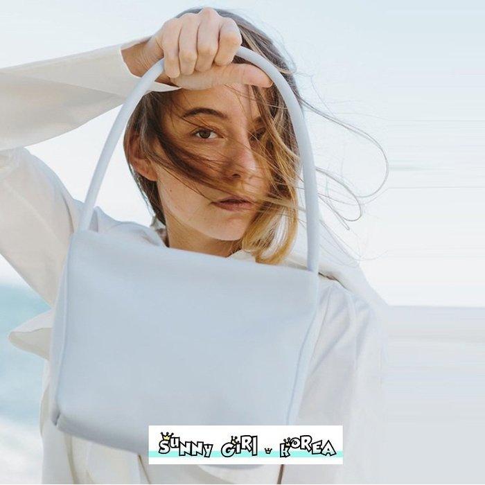 小方包*Sunny Girl*歐美風設計款純色復古油蠟皮單肩包腋下包 2020二月新款 - [WB0538]