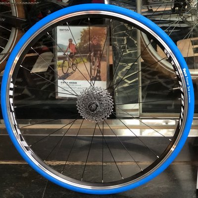 (J.J.Bike) Tacx訓練台專用胎 公路車 跑車 700*23c  Tyre racing