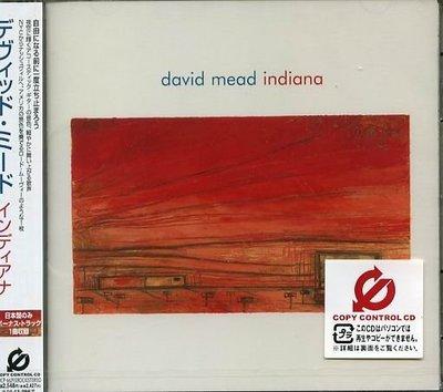 K - David Mead - INDIANA - 日版 CD+1BONUS - NEW