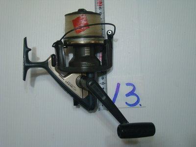 采潔 日本二手外匯釣SHIMANO GT6000 遠投二手中古釣竿捲線器釣具DAIWA OLYMPIC H13