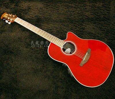 《民風樂府》 Ovation Celebrity Standard CS24-RR 單板圓背電木吉他 免息分期