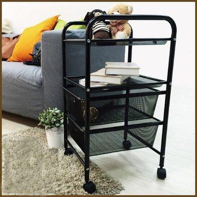 辦公室/臥室/客廳【居家大師】BCF17  北歐風可移式4層收納櫃/置物櫃