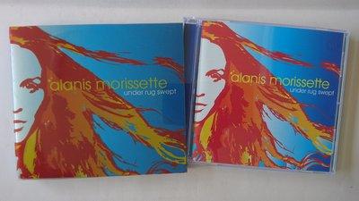 【鳳姐嚴選二手唱片 ALANIS MORISSETTE 艾拉妮絲·莫莉塞特 / UNDER RUG SWEPT 紙品包裝