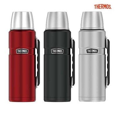 Thermos 膳魔師 不銹鋼真空長效型保溫瓶/保冷瓶 1200ML SK2010 運動瓶 登山瓶 保溫杯 1.2L