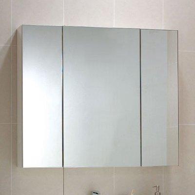 《101衛浴精品》Corins 柯林斯 95CM 三門鋁封邊鏡箱櫃 DR-95 非規格品尺寸可另外訂製【免運費】