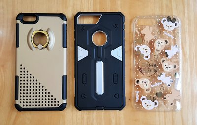 iphone 7 plus covers , 3 pcs in one set bulk pack