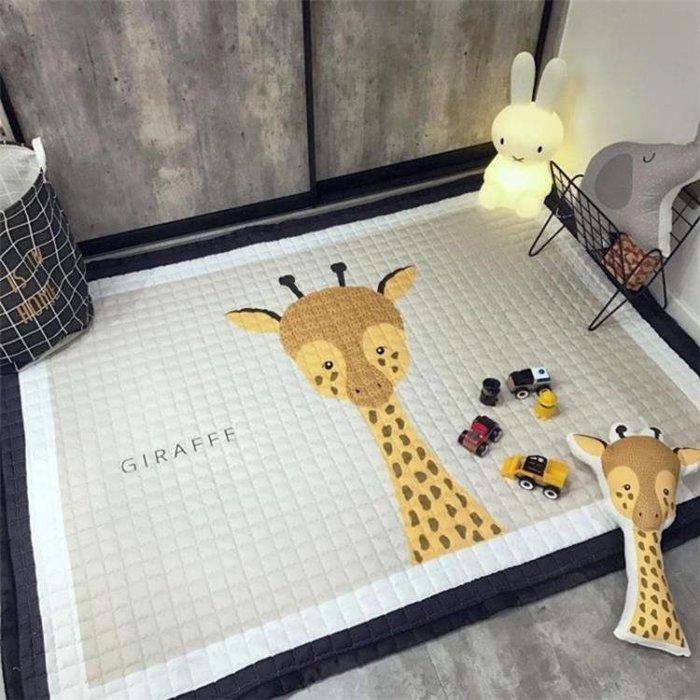 遊戲墊 布質嬰兒爬爬墊兒童游戲墊地墊毯客廳臥室加厚防滑寶寶爬行墊 MKS