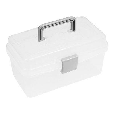 【TRENY直營】TRENY 小商品雙層收納箱 文具收納 玩具收納 工具收納 3062-B1