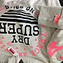 正品Superdry極度乾燥 粉色Logo刷厚毛帽T 給人舒服的感覺 尤其是在冬天 AF Nike
