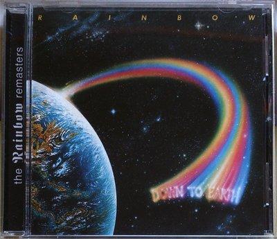 Rainbow - Down To Earth '99重混盤 二手美版