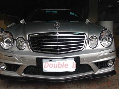 Double b BENZ W211 AMG 前保桿 + 後保桿 + 側裙 E200 E280 E320 E55 E63