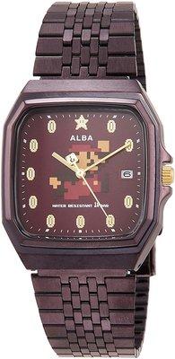 日本正版 SEIKO 精工 ALBA ACCK420 超級瑪利歐 瑪利歐 手錶 日本代購