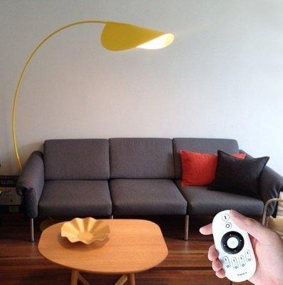 北歐設計師 釣魚落地燈 LED+遙控Floor lamp客廳別墅落地燈 高檔裝潢必備