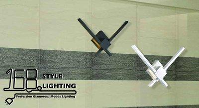 【168 Lighting】簡約居家《LED壁燈》(兩款)A款GE 71163-1